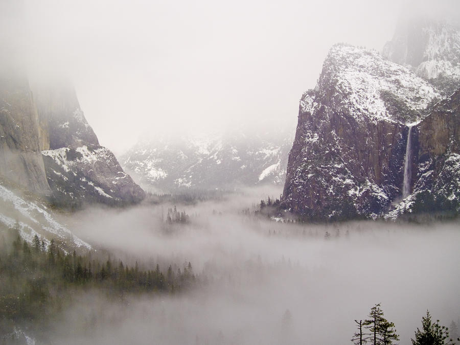 Yosemite Valley Photograph - Storm Brewing by Bill Gallagher