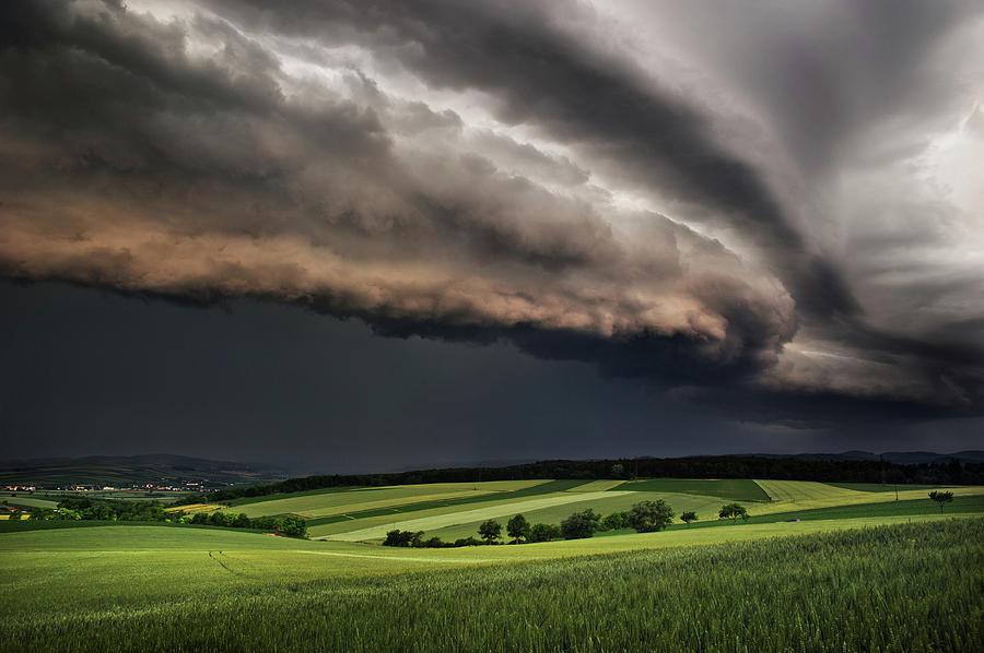 Sky Photograph - Storm by Burger Jochen