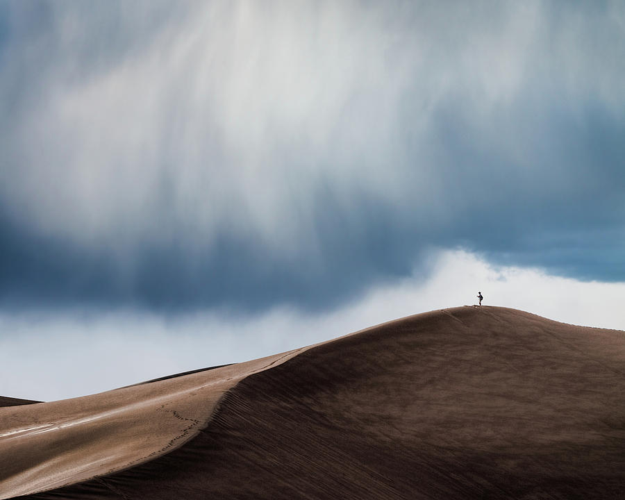 Landscape Photograph - Storm Chaser by John Fan