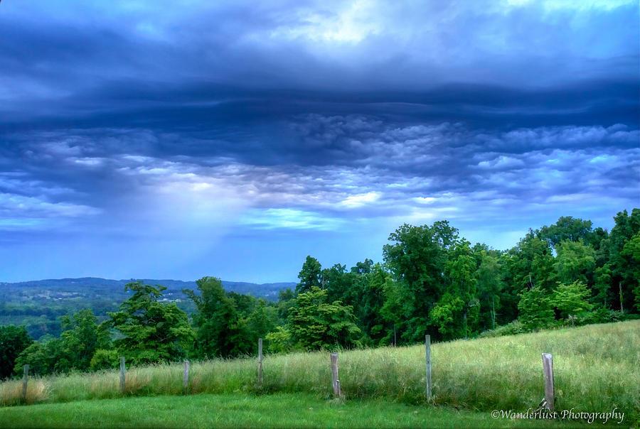 Storm Photograph - Storm Clouds by Paul Herrmann