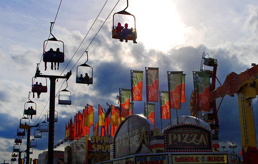 Fair Photograph - Storm Clouds by Skip Willits