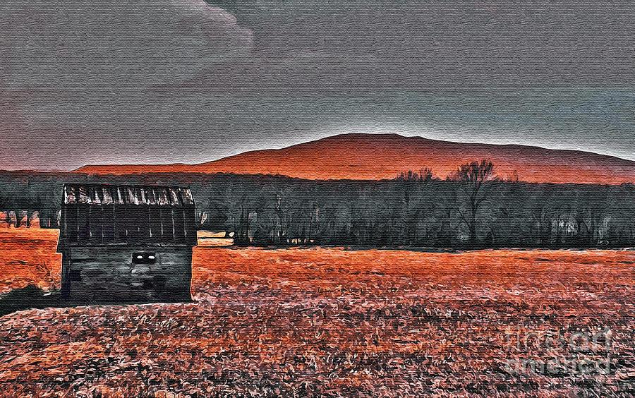 Nature Digital Art - Storm Coming by R McLellan