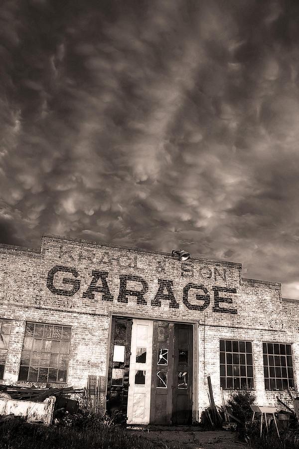 Storm Garage Photograph