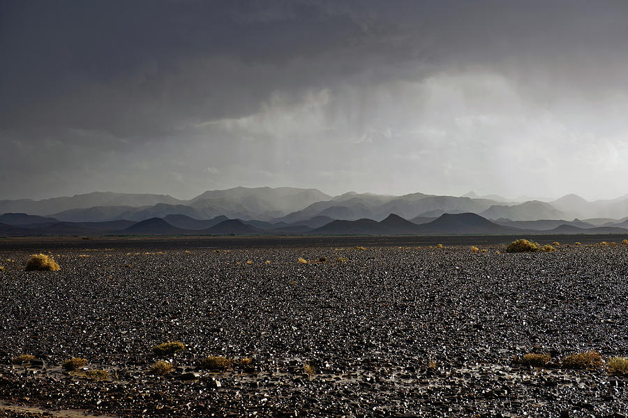 Storm In Moroccan Desert Africa Photograph by Pavliha