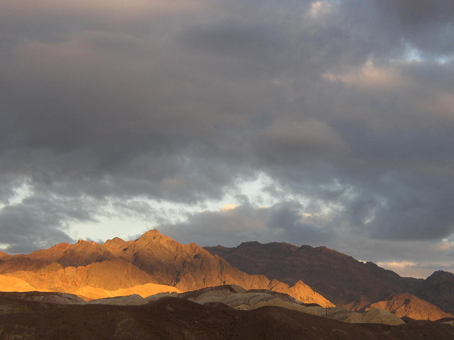 Death Valley Photograph - Storm In The Desert by Jenny Fish