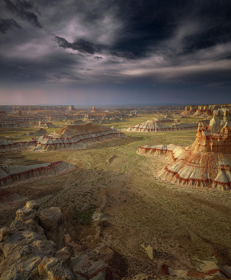 Landscape Photograph - Storm In The Distance by Greg Barsh