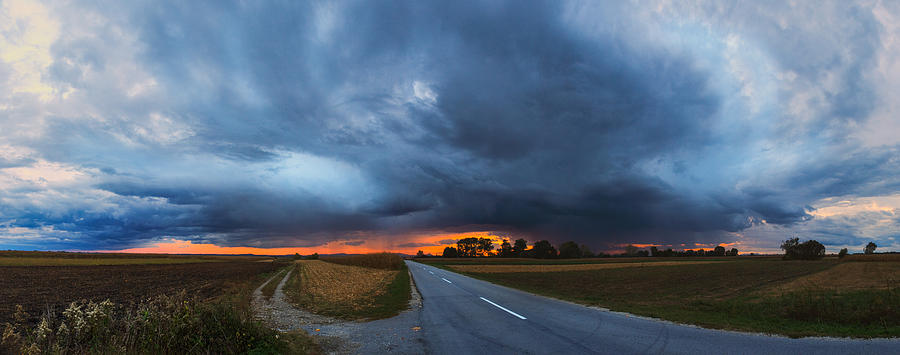 Landscapes Photograph - Storm Is Coming by Davorin Mance
