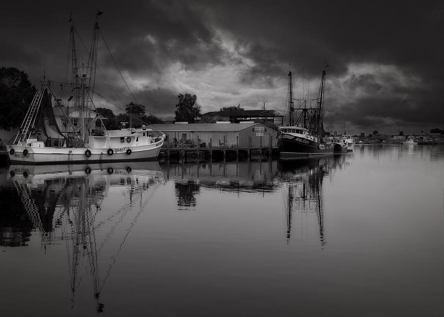 B&w Photograph - Storm Is Coming  by Mario Celzner