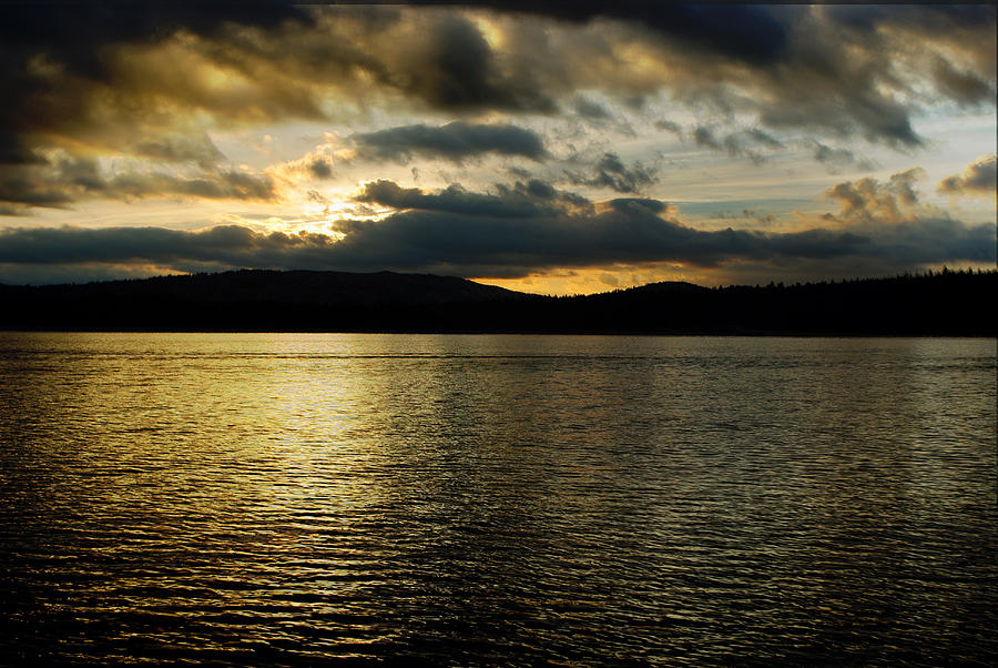 Eagle Lake Photograph - Storm Of The Season by Nathan Anglin