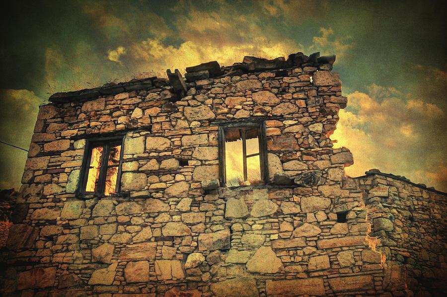 Village Photograph - Storm Of Time by Taylan Apukovska