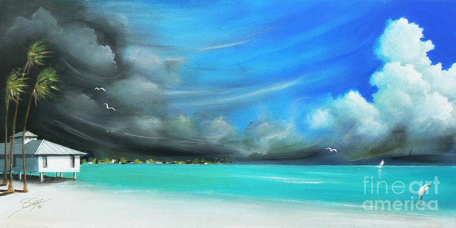 Acrylics Painting - Storm On The Move by Artist ForYou