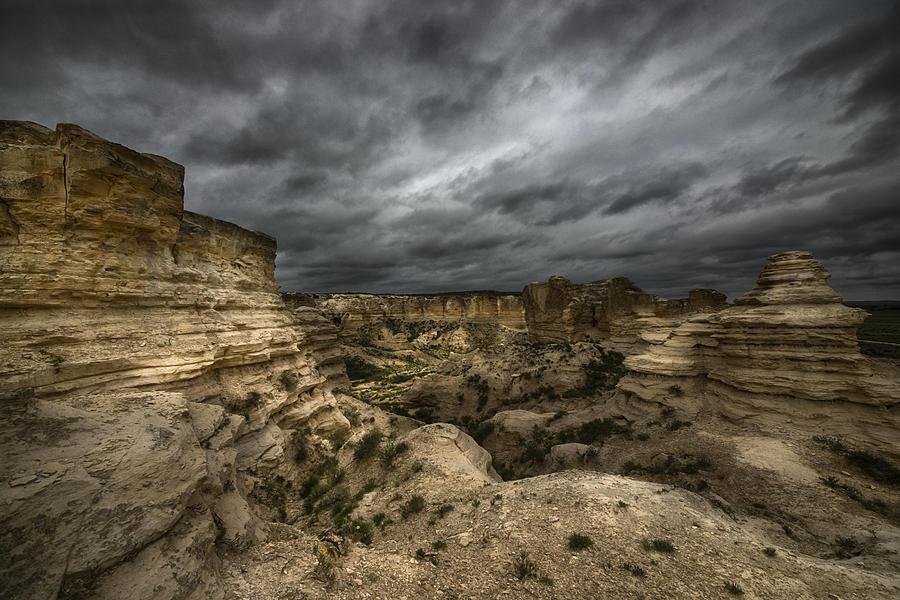 Clouds Photograph - Storm On The Plains  by Garett Gabriel