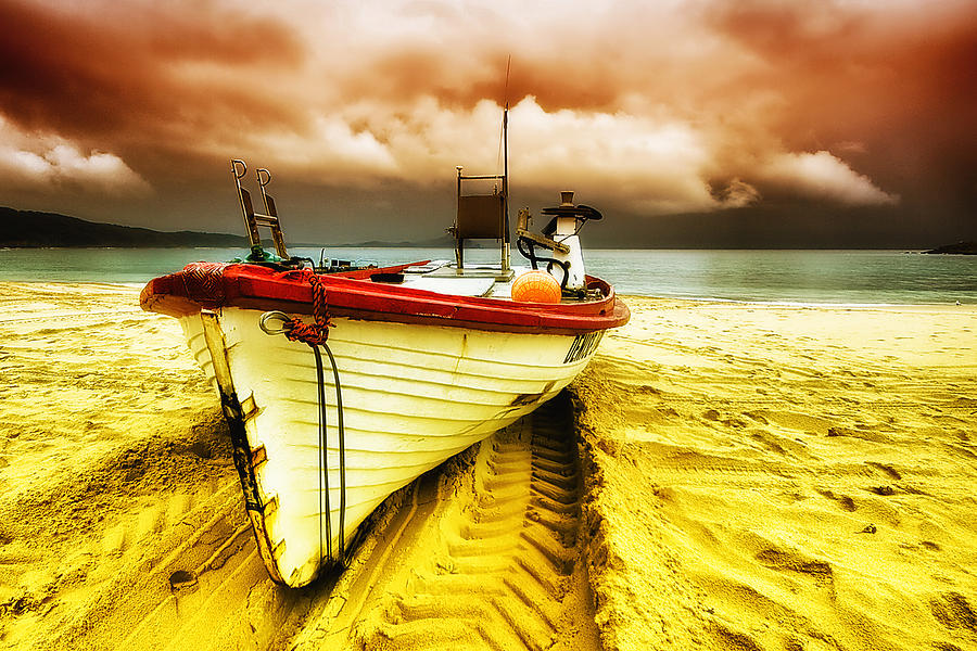 Seascape Photography Photograph - Storm On The Way 01 by Kevin Chippindall