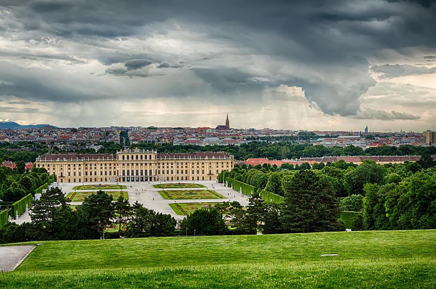 Austria Photograph - Storm Over Vienna by Viacheslav Savitskiy