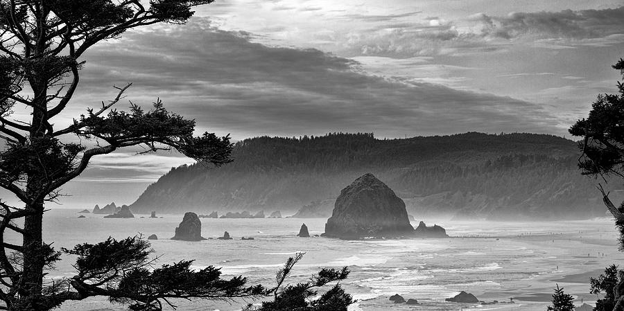 Cannon Beach Photograph - Storm Rolling In by Andrew Soundarajan