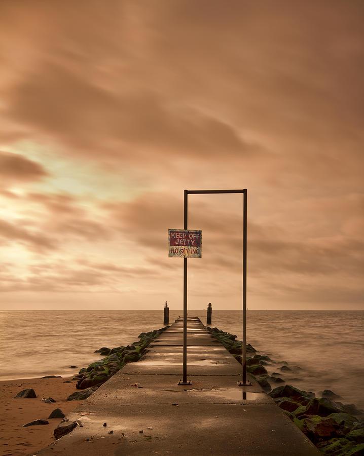 Midland Photograph - Storm Warning by Evelina Kremsdorf