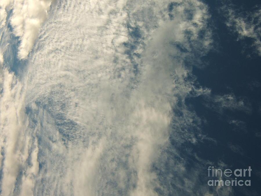 Storm Photograph - Storms A-brewin by Margaret McDermott