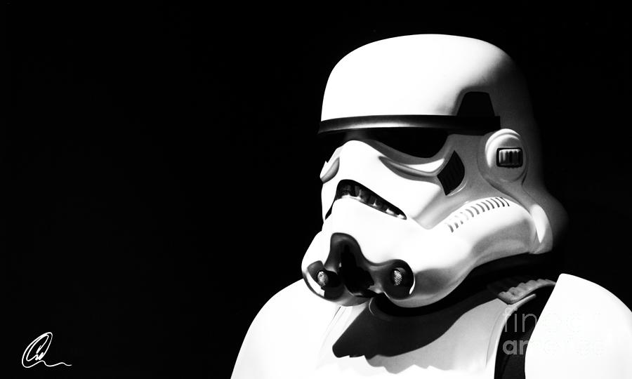 Star Wars Photograph - Stormtrooper by Chris Thomas