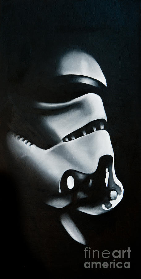 Stormtrooper Painting - Stormtrooper by Clifton Llamas