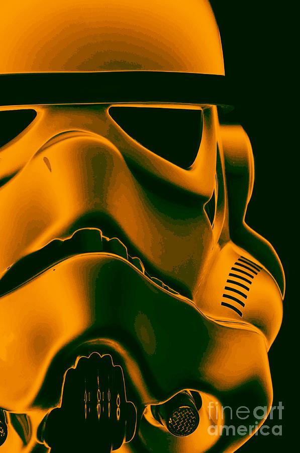 Stormtrooper Photograph - Stormtrooper Helmet 10 by Micah May