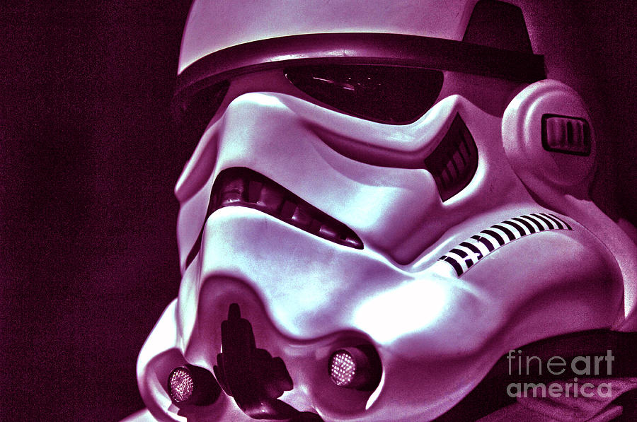 Stormtrooper Photograph - Stormtrooper Helmet 20 by Micah May