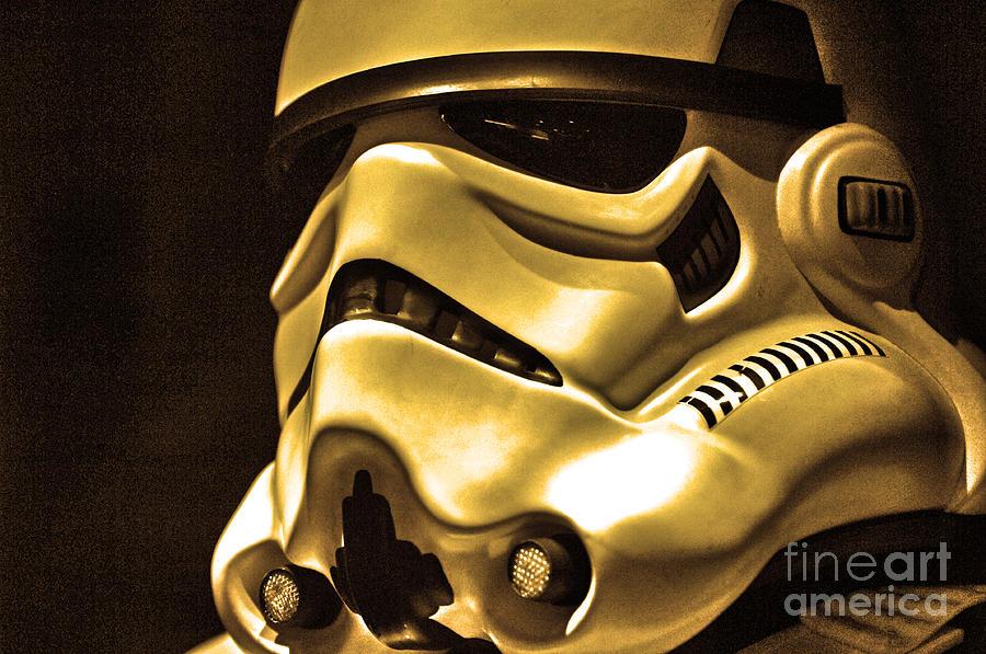 Stormtrooper Photograph - Stormtrooper Helmet 24 by Micah May