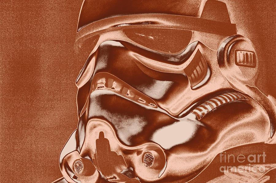 Stormtrooper Photograph - Stormtrooper Helmet 32 by Micah May