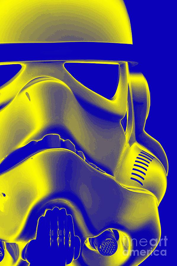 Helmet Photograph - Stormtrooper Helmet 5 by Micah May