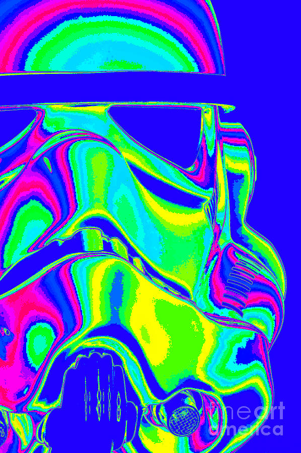 Stormtrooper Photograph - Stormtrooper Helmet 7 by Micah May