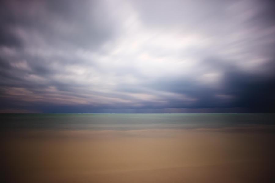 Abstract Photograph - Stormy Calm by Adam Romanowicz