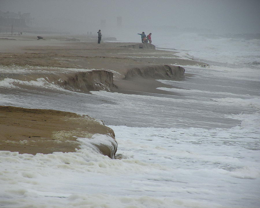 Northeaster Photograph - Stormy Day by Kim Bemis