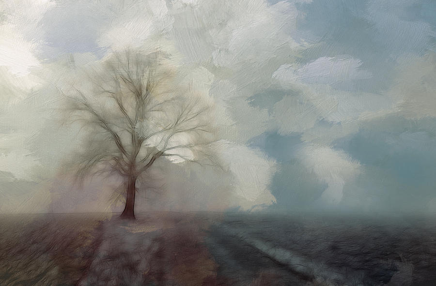 Stormy Day Painting by Steve K
