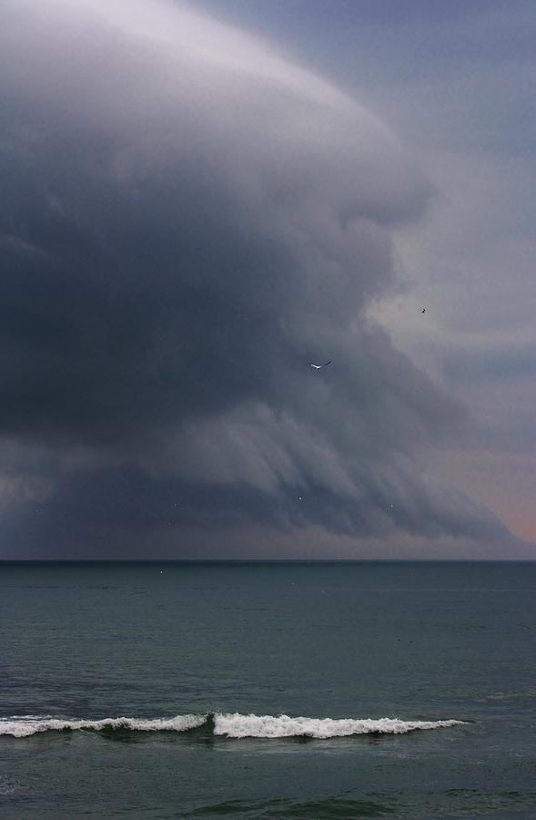 Ocean Photograph - Stormy Days by Bruce Bley