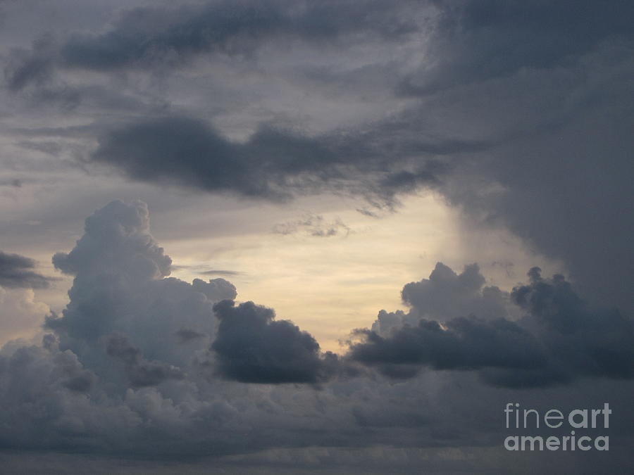 Storm Photograph - Stormy Evening by Gayle Melges