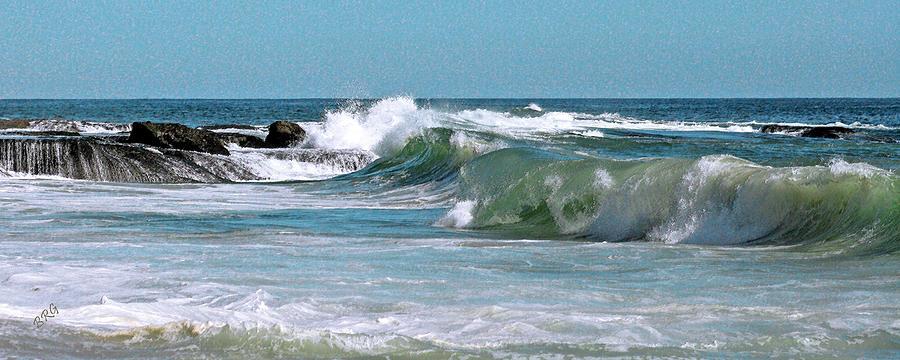 Bluescape Photograph - Stormy Lagune - Blue Seascape by Ben and Raisa Gertsberg