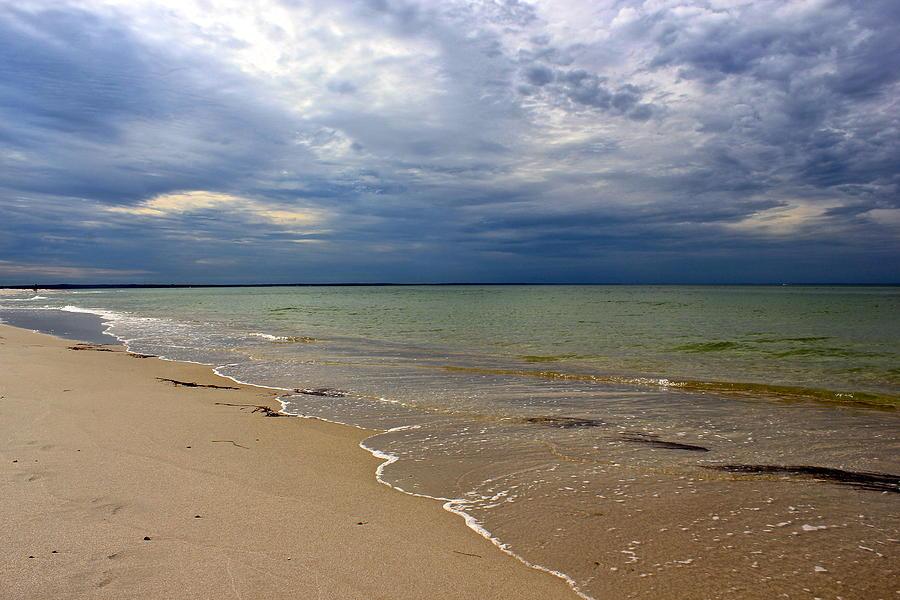 Mayflower Beach Photograph - Stormy Mayflower Beach by Amazing Jules
