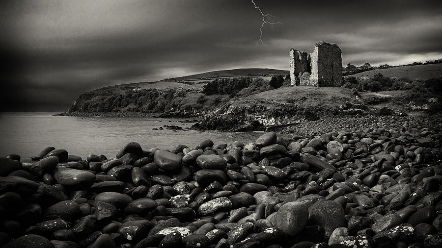 Gothic Photograph - Stormy Night In Ireland by Dick Wood