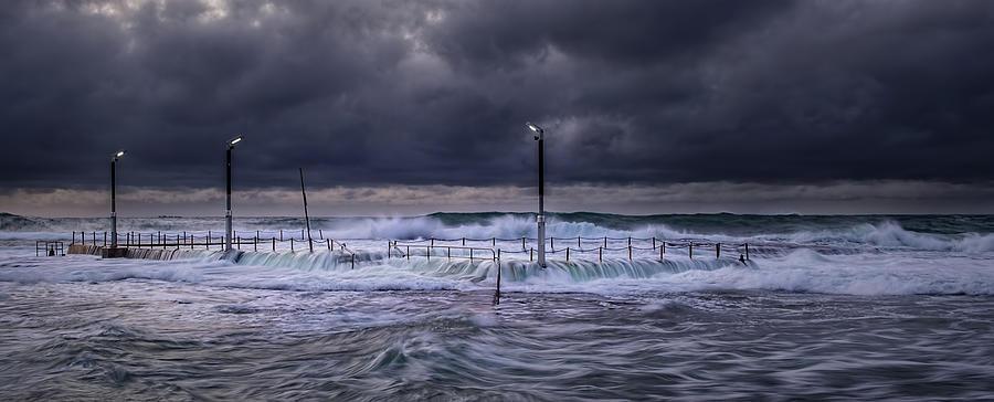 Stormy Ocean, Monavale Beach, Australia Photograph by Bert