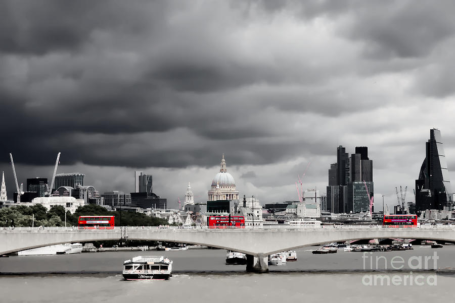 Stormy Skies over London by Jeremy Hayden