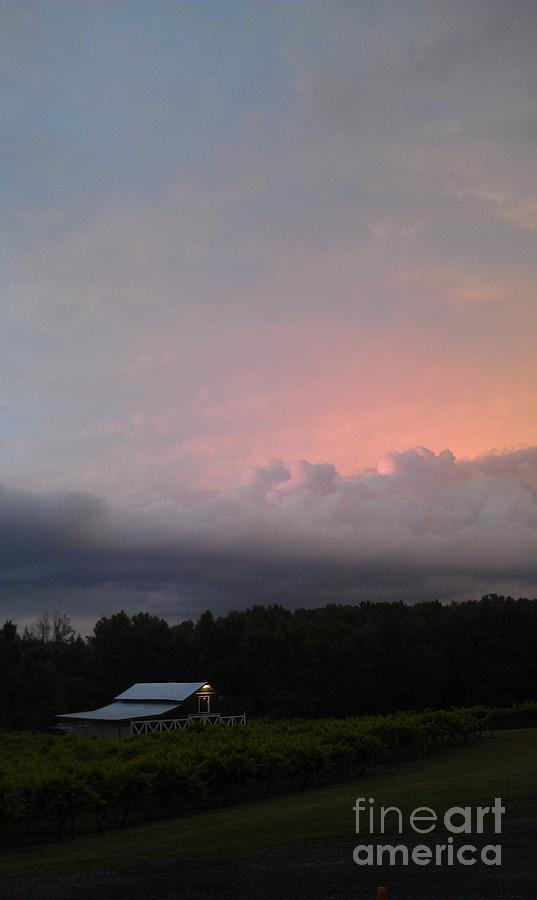 Sunset Photograph - Stormy Sunset by Gayle Melges