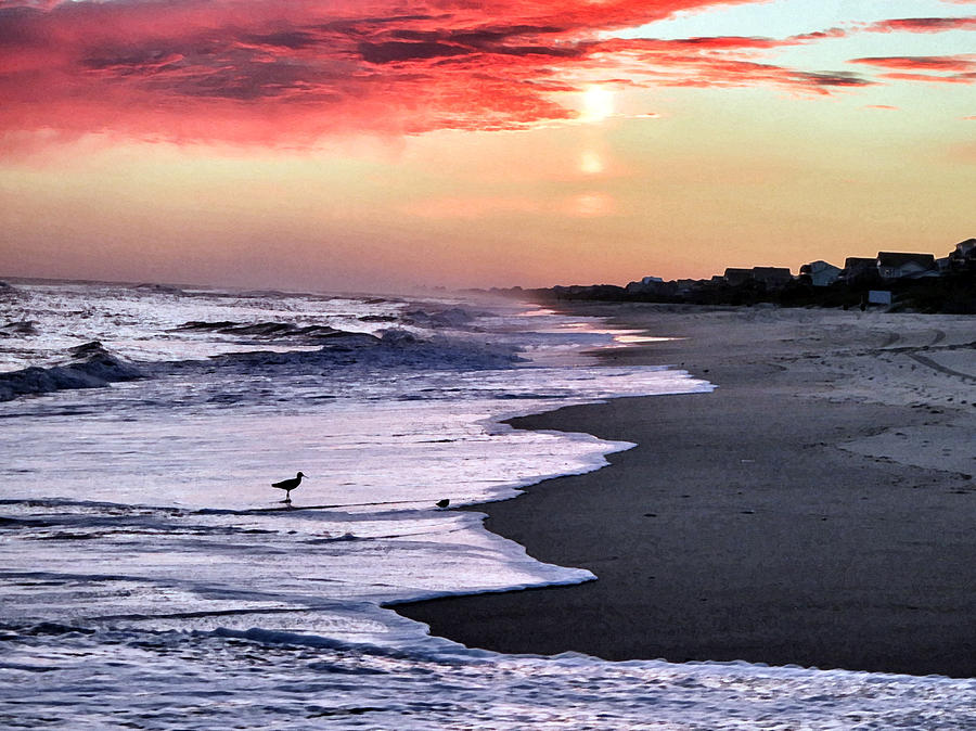 Sunset Photograph - Stormy Sunset by Patricia Januszkiewicz