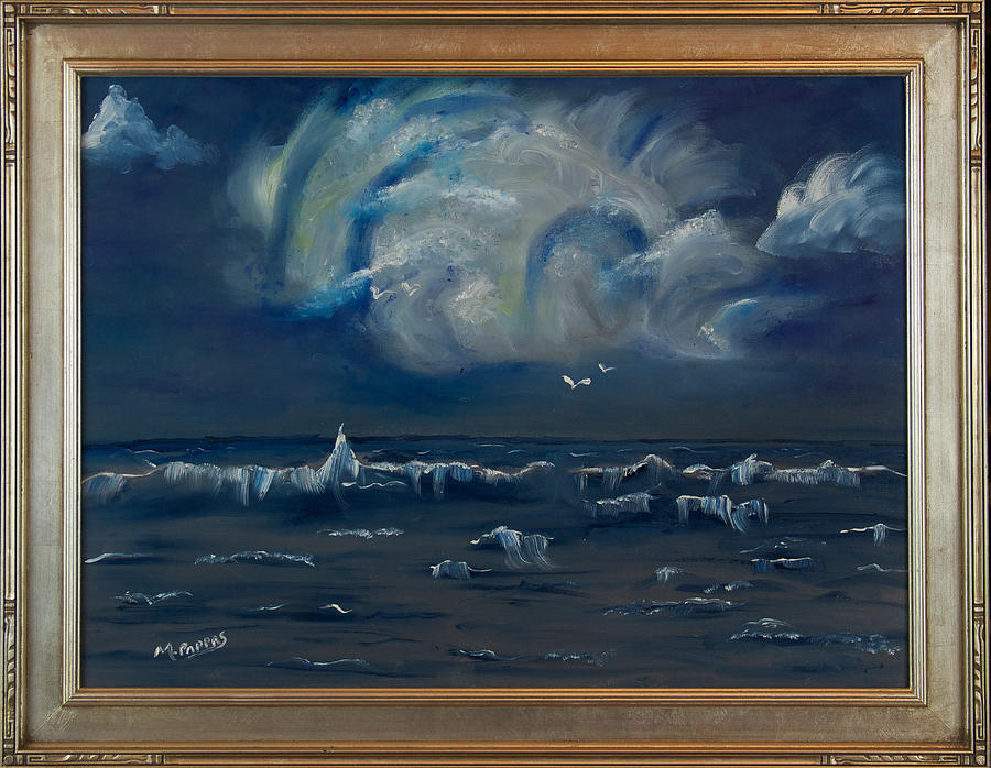 Stormy Weather Painting by Margaret Pappas
