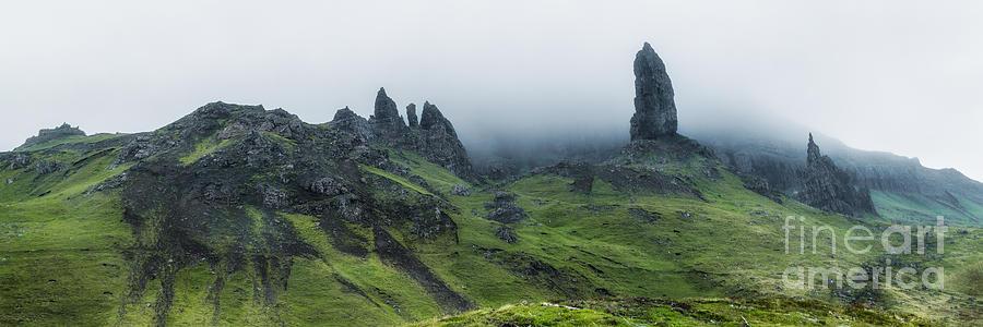 Landscape Photograph - Storr In The Clouds by Matt  Trimble