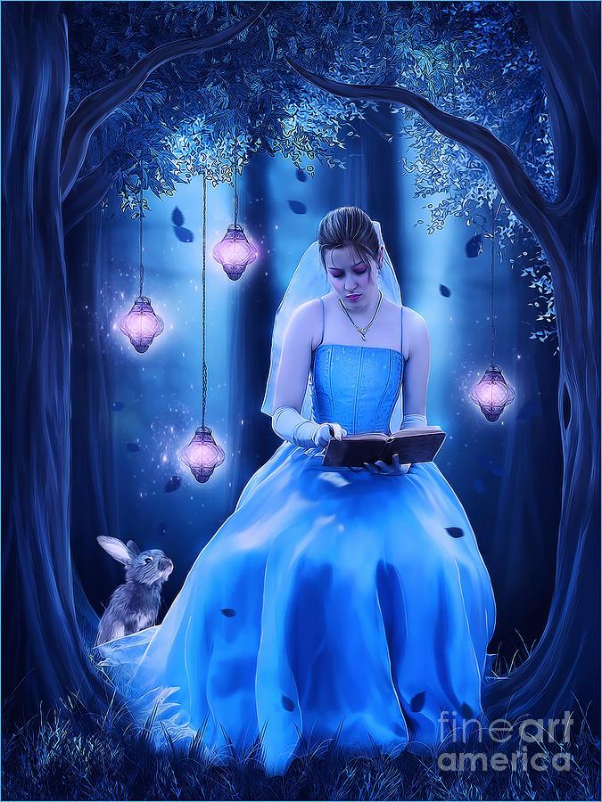 Story Book Digital Art by Jessica Allain