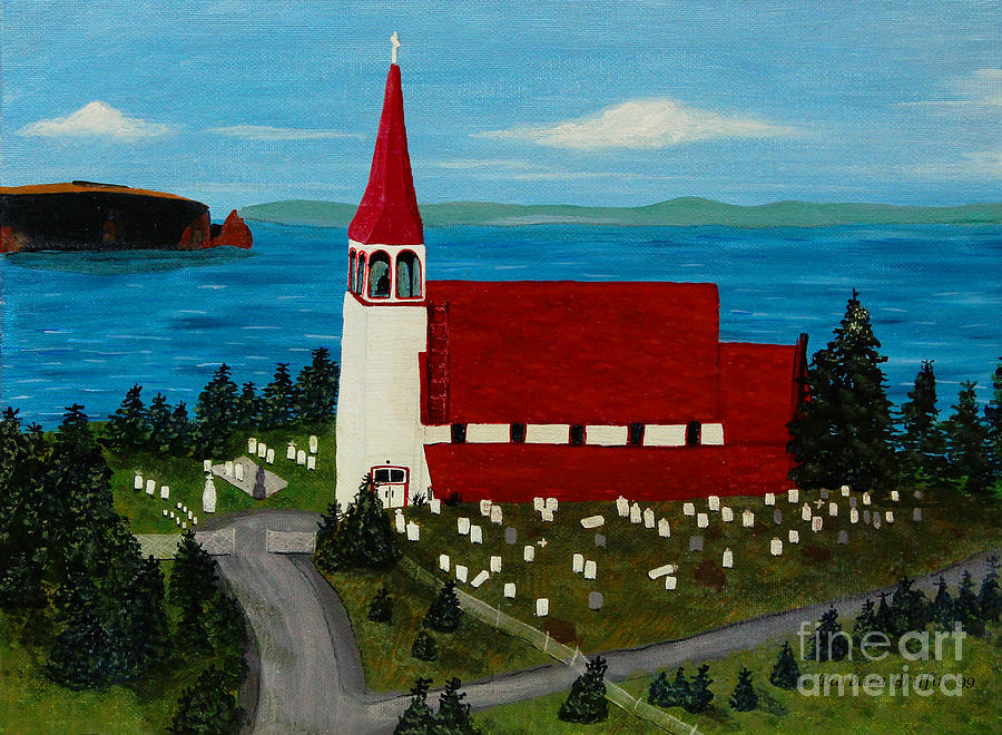 Barbara Griffin Painting - St.philips Church 1999 by Barbara Griffin