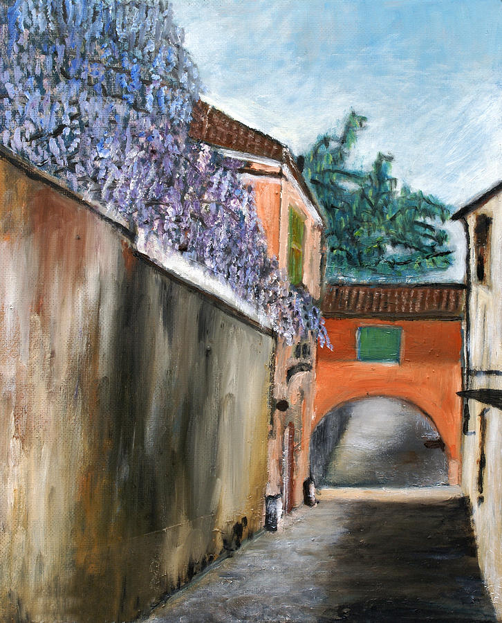 City Painting - Strada Di Rivoli by Niki Mastromonaco