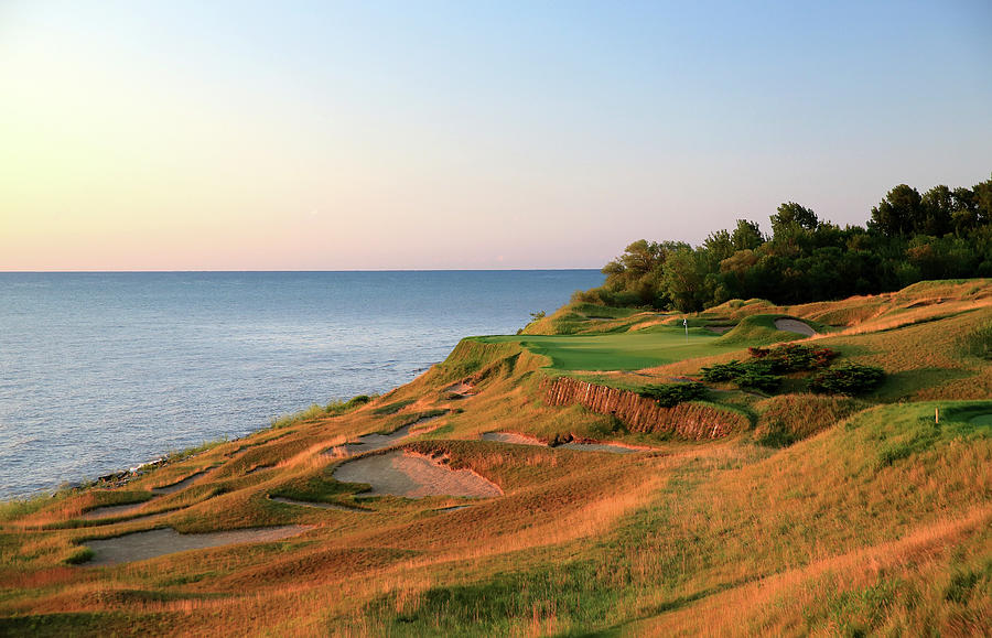 Straits Course At Whistling Straits Photograph by David Cannon