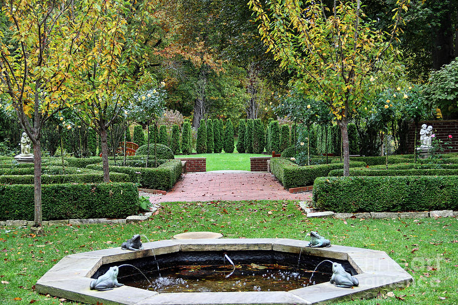 Stranahan Estate Garden 2248 Photograph