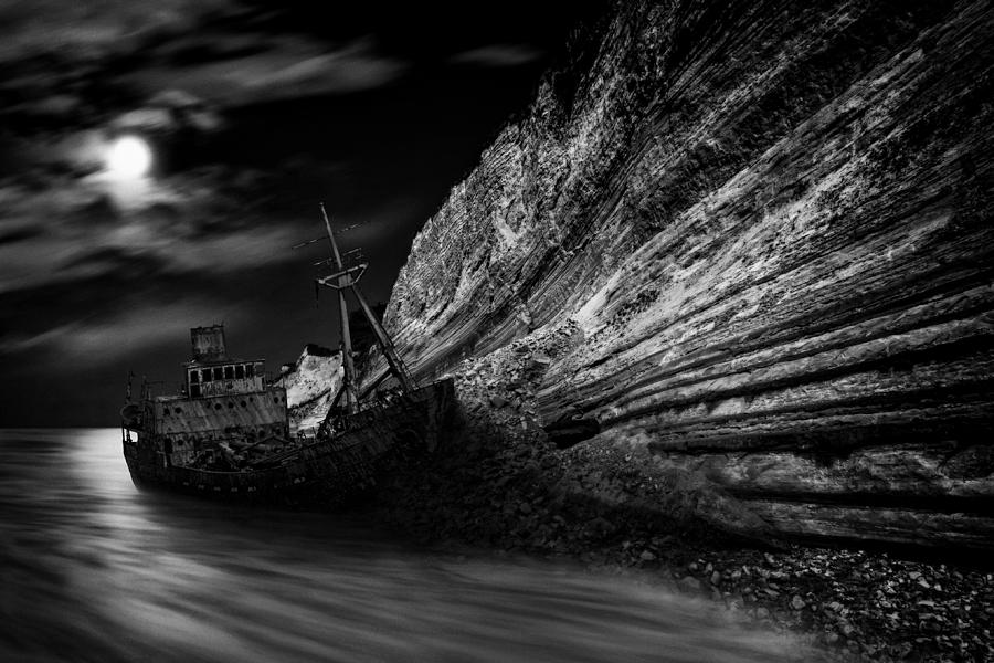 Landscape Photograph - Stranded by Darko Ivancevic