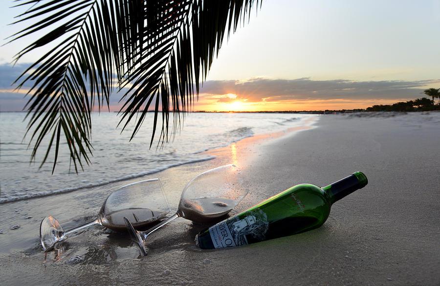 Wine Photograph - Lost in Paradise by Jon Neidert